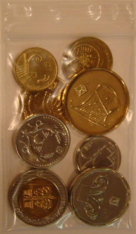 Modern Israeli Coins Holy Land Ancient Coin Israel Lot Ebay